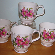 Royal Albert - Prairie Rose - Coffee Mugs (4)