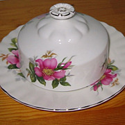 Royal Albert - Prairie Rose - Veg. Bowl & Butter Dish