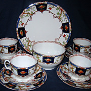 Antique Grafton China - Tea Service for 4