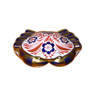 Royal Crown Derby - Crab Paperweight