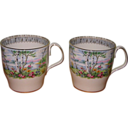 SALE Royal Albert - Silver Birch - Coffee Mugs (2)