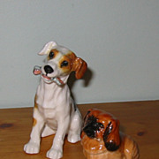 Royal Doulton - Terrier with Bone HN1159 & Pekingese