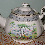 Royal Albert - Silver Birch - Large Teapot ((Mint)