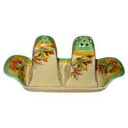 SALE Royal Winton - Virginia - Salt & Pepper Set w/Tray
