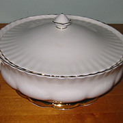 SALE Royal Albert - Val D'Or - Covered Server