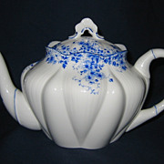 SALE Shelley - Dainty Blue - Teapot