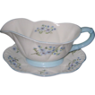Shelley - Blue Rock - Gravy Boat & Tray
