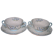 Shelley - Blue Rock - Cream Soup Cup Sets (2)