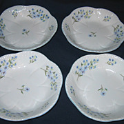 Shelley - Blue Rock - Cereal Bowls (4)