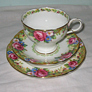 Paragon - Tapestry Rose - Corset Teacup Trio