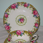 Paragon - Tapestry Rose - Teacup Trio