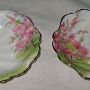 Royal Albert - Blossom Time - Shell Candy Dishes