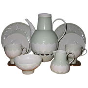 Rosenthal - Lotus Green - Tea Set ((10pc)