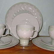 Rosenthal - Lotus Green - Teacup Trios