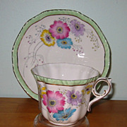 Royal Grafton - Florals on White - Teacup Set