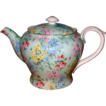 Shelley - Melody Chintz on Green - Teapot