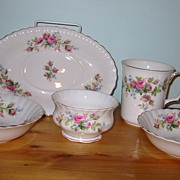 SALE Royal Albert - Moss Rose - Fruit Nappies, Mug +