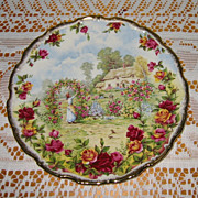 Royal Albert - Old Country Roses - 25th Anniversary Plate