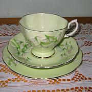Royal Albert - Laurentian Snowdrop Teacup Trio