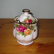 REDUCED Royal Albert - Old Country Roses - Jam Pot