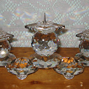 REDUCED Swarovski - Large Candle Holder