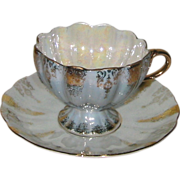 Shafford - Footed Luster Teacup Set