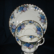 Royal Albert - Moonlight Rose - Teacup Set & Salad Plate