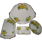SALE Royal Albert - Tea Rose - Trays (4)