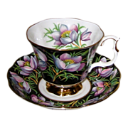 Royal Albert - Prairie Crocus - Teacup Set