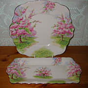 Royal Albert - Blossom Time - Dessert Trays (2)