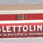 Vintage Glattolin Collar Wax Full Display Box