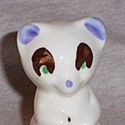 Shawnee Pottery  Miniature Raccoon Vintage 1940's - 1950's