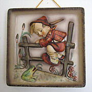 �Retreat to Safety� Hummel Wall Plaque [Hum 126]