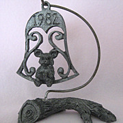 Debbie 1982 Pewter Ornament by Michael Ricker - Limited Edition