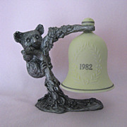 Kern 1982 Pewter with Bell Piece by Michael Ricker - Limited Edition