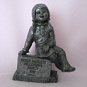 Mary Jo - 1982 Exclusive Charter Pewter Membership Piece by Michael Ricker