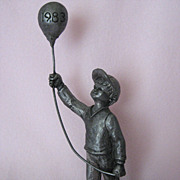 """GARY"" - 1983 Special Edition Collector's Pewter Piece by Michael Ricker"