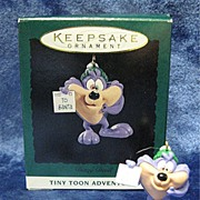 DIZZY DEVIL, a Tiny Toons Adventures Hallmark Miniature Ornament - 1994