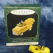 1953 MURRAY Dump Truck, a Miniature Hallmark Ornament - 1998