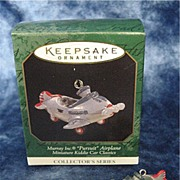 MURRAY PURSUIT Airplane, a Miniature Hallmark Ornament - 1997