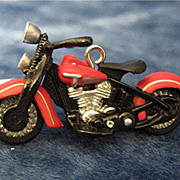 1948 PANHEAD, a Miniature Harley-Davidson Motorcycle - 2003