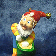 RUDOLPH'S HELPER - 1996 Keepsake Ornament Collector's Club