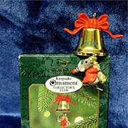 A FRIEND CHIMES IN -- 2000 Miniature Hallmark Membership Ornament