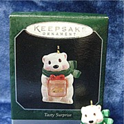 TASTY SURPRISE, a Miniature Hallmark Ornament - 1998
