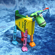 &quot;Happy Hues&quot;, a Crayola Crayon Hallmark Ornament --2005