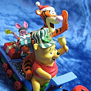 &quot;100 Acre Express&quot;, a Winnie the Pooh Hallmark Ornament - 2004