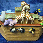 "SOLD ""Noah's Ark"", a Hallmark Ornament - 2005 - Red Tag Sale Item"