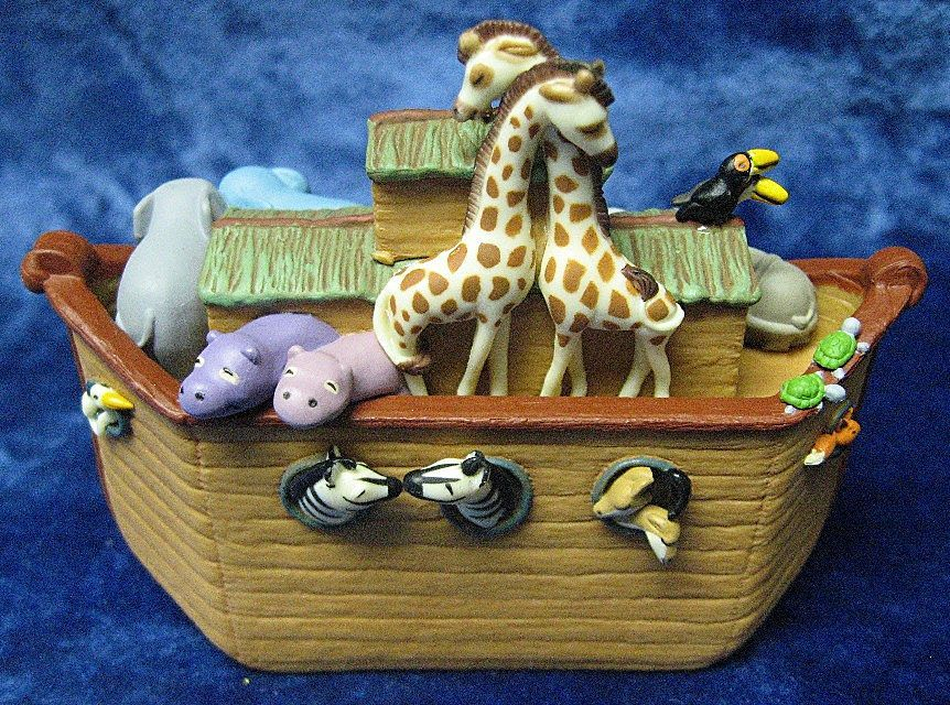 &quot;Noah's Ark&quot;, a Hallmark Ornament - 2005