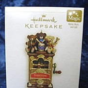 "SOLD ""Teddy Bear Band"", a MAGIC Hallmark Ornament - 2006 - Red Tag Sale Item"