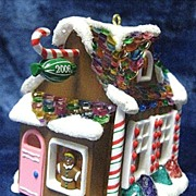 """Sweet Shop"" (Noelville), a Hallmark Keepsake LIGHTED Ornament - 2006"